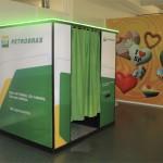 Cabine Petrobras personalizada | Photo A