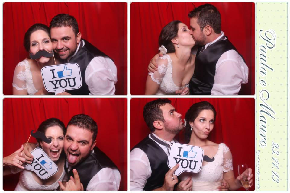 Casamento - Paula e Mauro - Vila Bisutti | Photo A - Cabine de foto lembrança