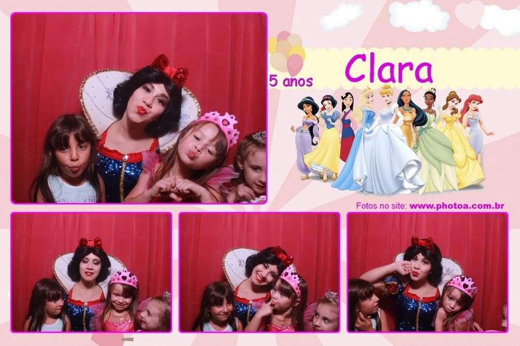 Aniversário 5 anos - Clara - Buffet Wishes | Photo A - Cabine de foto Lembraça - Fotocabine