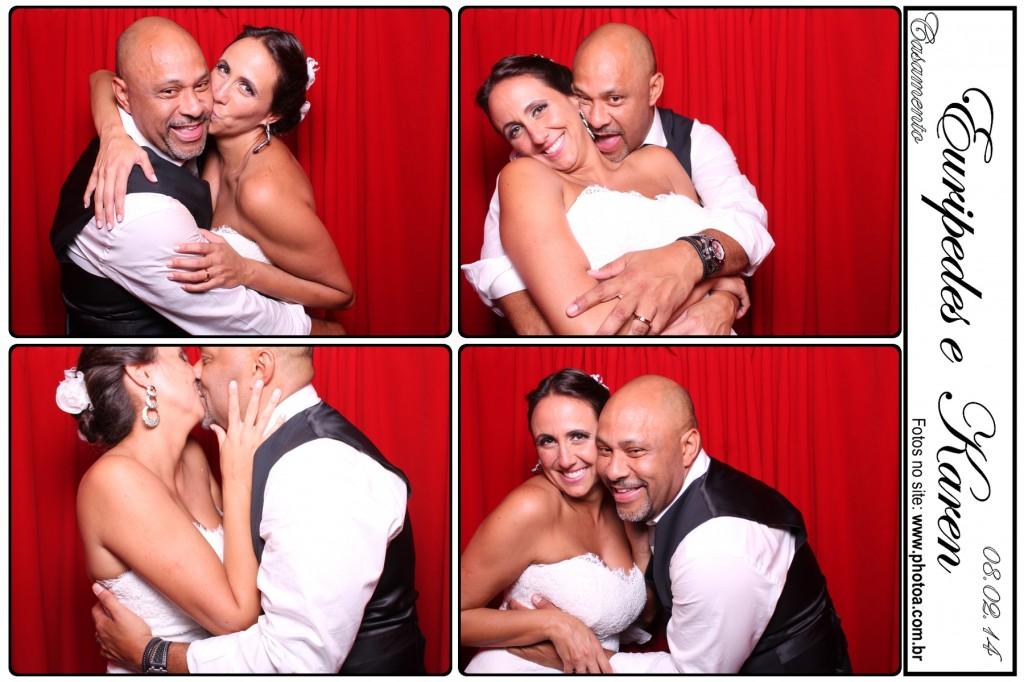 Casamento - Euripedes e Karen - Buffet Contemporâneo | Photo A Cabine De Foto Lembrança - Fotocabine
