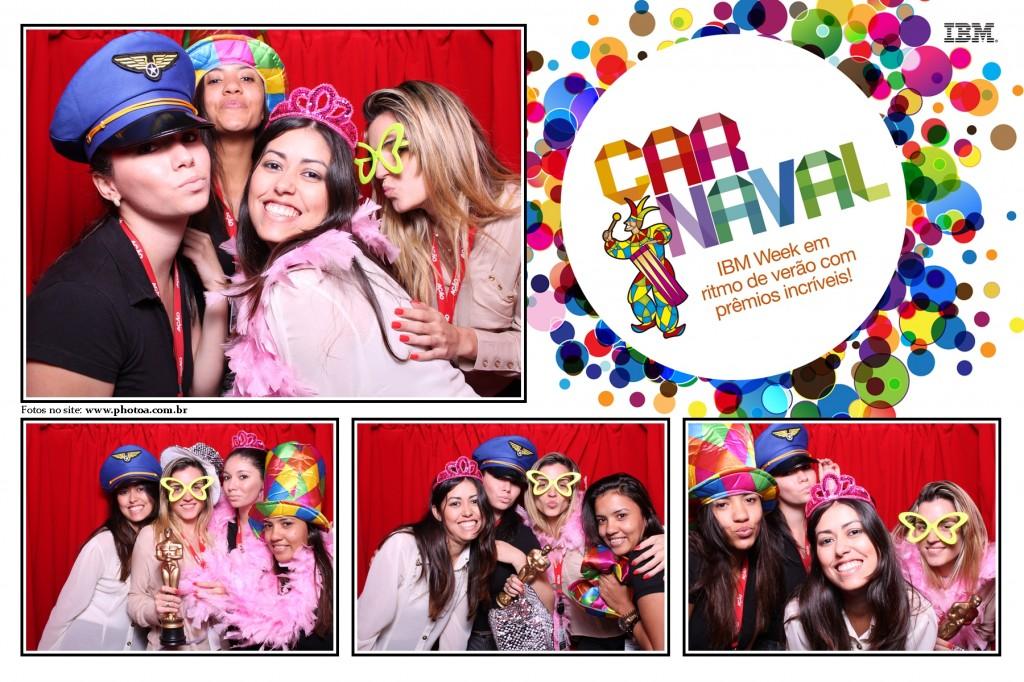 Corporativo IBM - Ação informática - Carnaval | Photo A - Cabine De Foto Lembraça