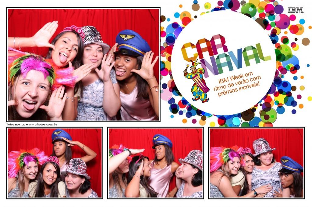 Corporativo IBM - Officer - Carnaval | Photo A - Cabine De Foto Lembraça