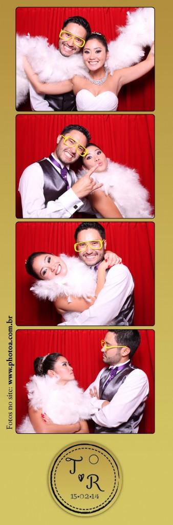 Casamento - Thais e Renato - Monte Castelo   Photo A - Cabine de Foto Lembrança - Fotocabine