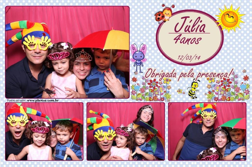Aniversário - Júlia - 4 Anos   Photo A - Cabine de foto Lembraça