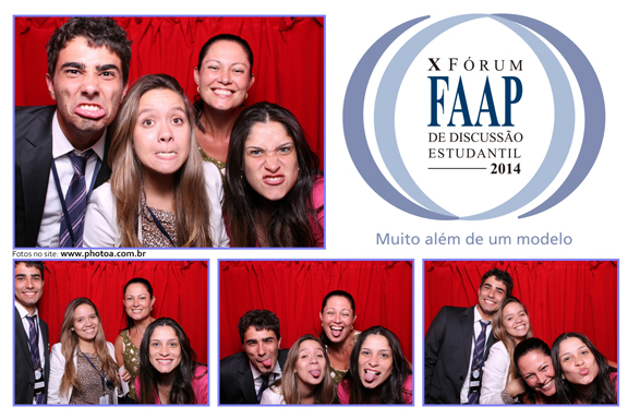 FAAP - Fórum - estudantil | Foto Lembrança Personalizada
