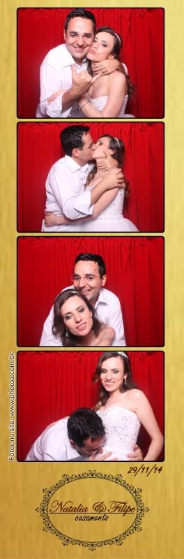 Casamento - Natalia e Filipe - Foto lembrança personalizada