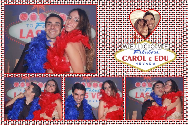 Carol e Edu - Totem Photo A | Foto Lembrança
