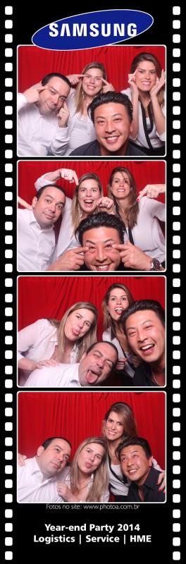 Samsung - Year-end Party 2014 | Foto lembrança