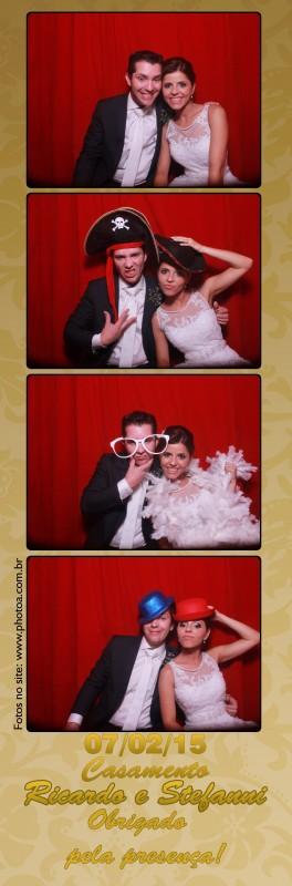 Casamento - Ricardo e Stefanni -  Atibaia - Foto lembrança