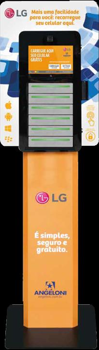 Totem carregador de Celular - LG - Charge A