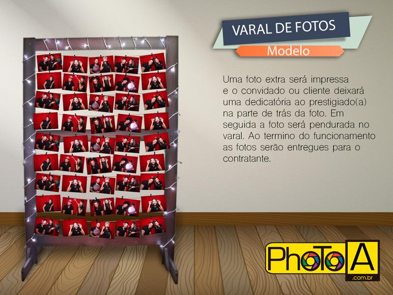 Varal de Fotos para InstaPhoto A - Impressão de foto por uma hashtag do Instagram