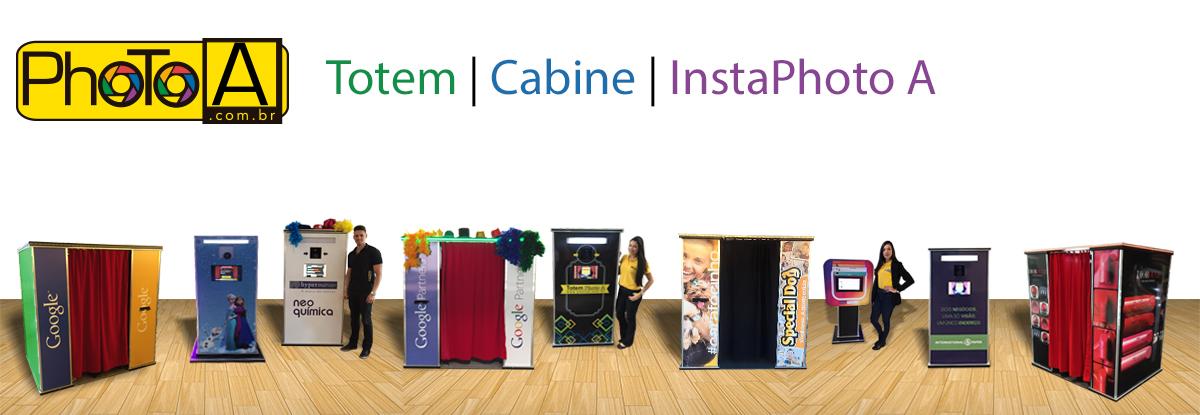 Cabine de Fotos - Totem de Fotos - InstaPhoto A | Foto Lembrança