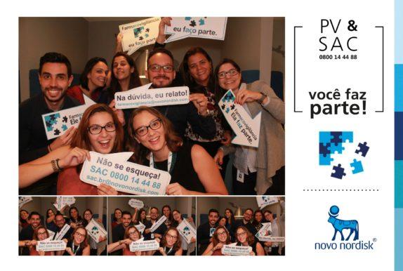 Novo Nordisk | PV&SAC - Você faz parte! Foto Lembrança impressa
