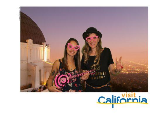 Flytour - Totem de foto - Fundo Chorma Key Visit California | Photo A