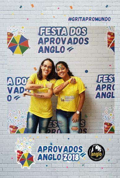 Anglo - Festa dos aprovados 2018 - InstaPhoto A Impressão Foto Hashtag